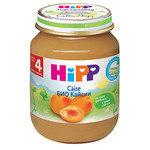 HIPP Био Бебешко пюре/кайсии/4м+ 125 гр.